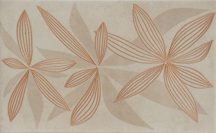 GLAMUR FLOWERY BEIGE 25x40