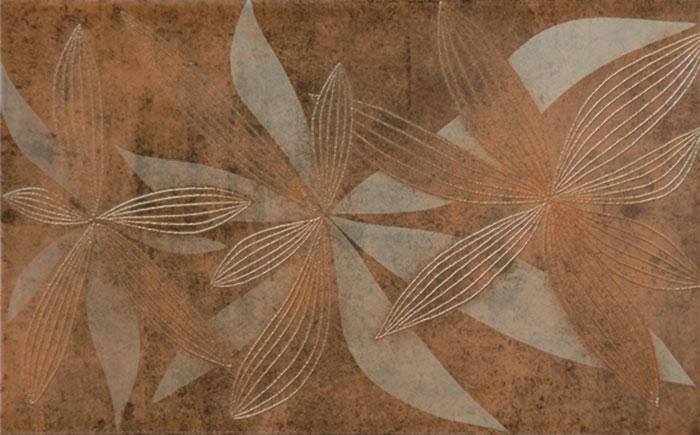 INSERTO GLAMUR FLOWERY BROWN 25x40