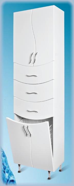 LUX Ceramica - Vertikala 50 x 190 polica-korpa