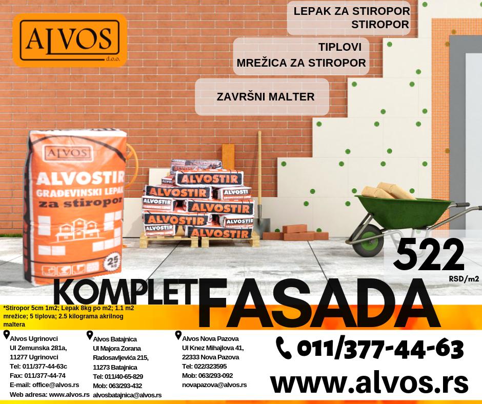 Fasade - Alvos Beograd